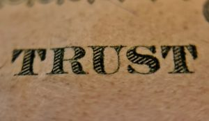 Lack of Trust in Charities?