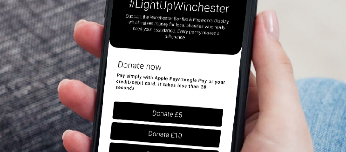 Donater Contactless Cashless Donation