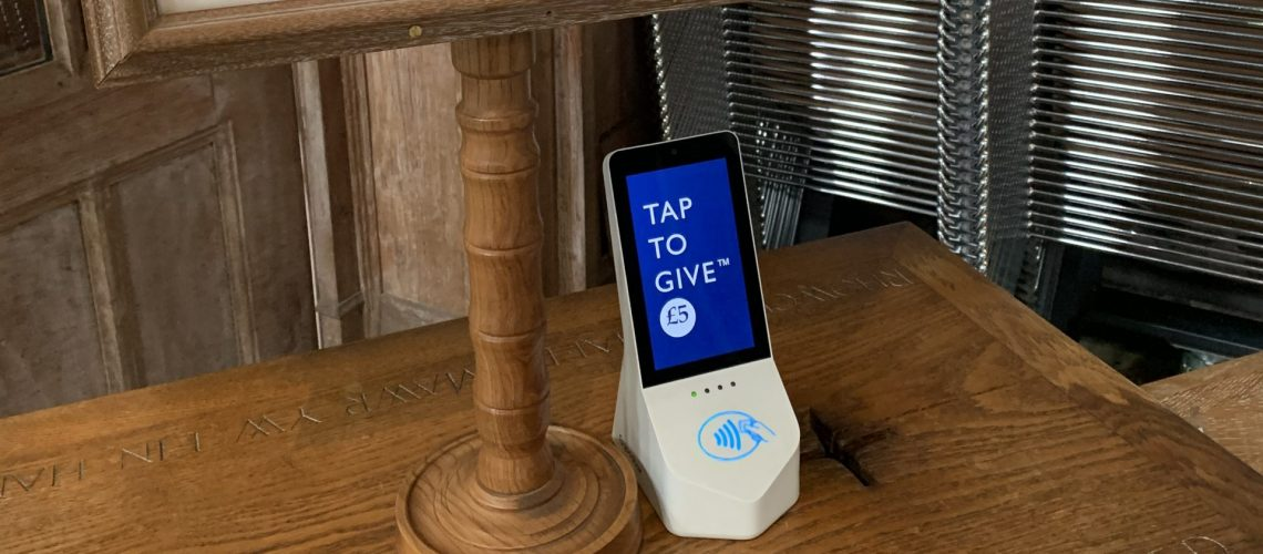 Church of England Contactless Donations